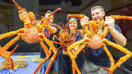 疯了疯了!吃货老外带美国朋友在广州吃掉20000多元的海鲜盛宴!