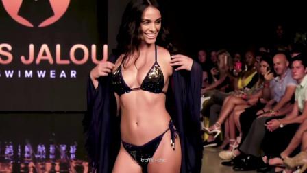 Pas Jalou 比基尼2020迈阿密泳装秀,靓丽模特时尚走秀,画面真美!