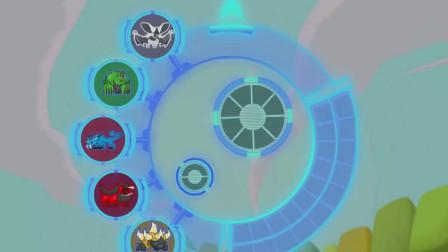 兽王争锋:泰羽用抓住的两个灵兽,造了一个啸天黑翼兽,真厉害啊