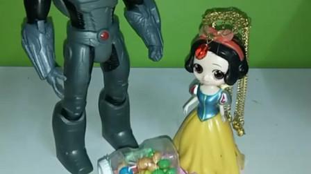 育儿亲子游戏玩具:白雪输了,王子是贝尔的了