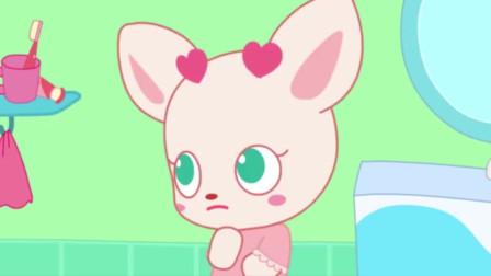 小鹿杏仁儿动画片:为什么今天的睡前准备杏仁儿总是出错呢