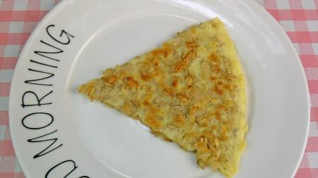 燕麦鸡蛋饼的做法减肥早餐,鸡蛋饼怎么做好吃又健康,鸡蛋饼这样做营养