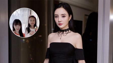 李小璐晒与女儿亲密互动生活 甜馨淡妆出镜越来越漂亮