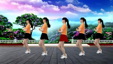 32步广场舞《三月里的小雨》音乐好听,舞步好看 大人小孩都喜欢!