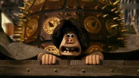 无敌原始人:看看原始人的防盗门,多重关卡,现代人也难以解开