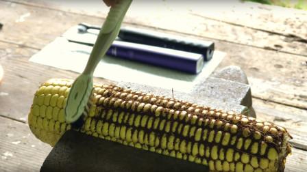 市面上的电动牙刷,和普通牙刷有什么区别,用玉米实验后差距悬殊