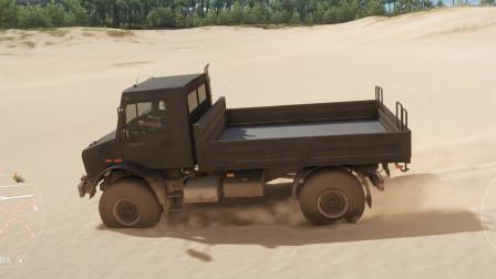 地平线4:奔驰乌尼莫克海边沙地越野测试