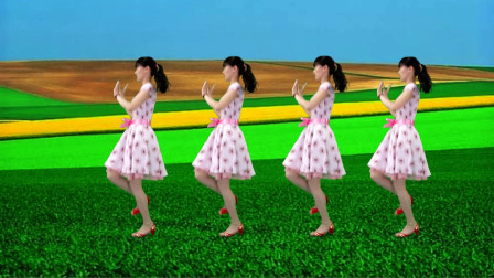 广场舞《我让风儿告诉你》旋律动听,舞步潇洒好看又好学