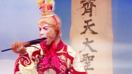 孙悟空大闹天宫时,为何要在如来手指上写字?根源在菩提祖师?