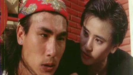 """香港黑帮电影:女子是个""""狠角色"""",古惑仔遇到她倒霉了"""