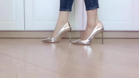 这5双高跟鞋怎么样呢,我觉的粉色的好看