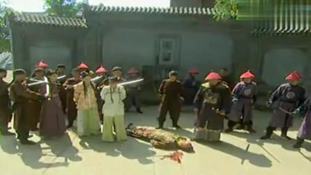 康熙微服私访记:金时昌逼着康熙爷现身,在大门口连杀两个人