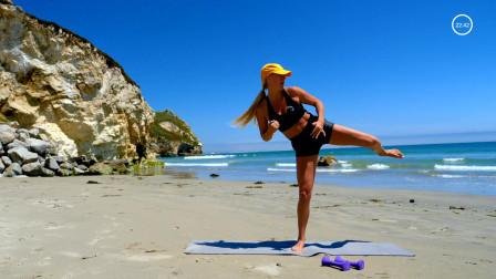 30分钟哑铃锻炼 腹肌,臀大肌和腿部锻炼