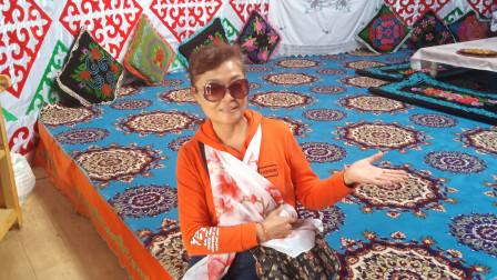 金秋游新疆 那拉提草原 哈萨克家园