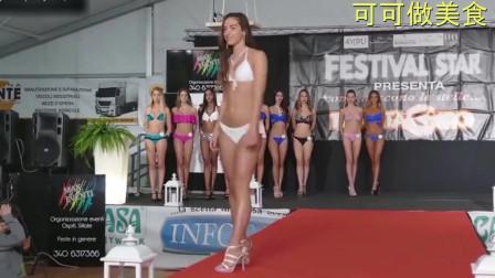 乌拉圭世界小姐比基尼选美大赛,微黑的超模一样魅力十足