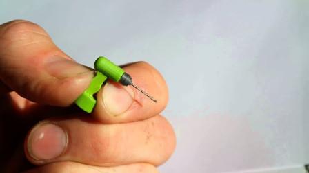 世界上最小的电钻,和人的手指甲盖一样大,还能正常使用