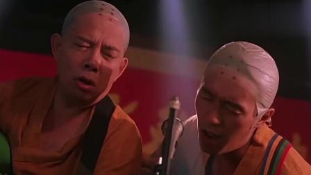 """少林足球:星爷和师兄的表演深深""""吸引""""观众,下一秒惨遭暴打!"""