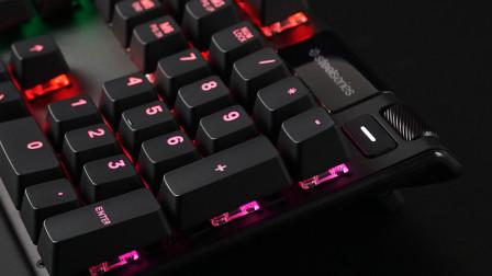 赛睿APEX PRO机械键盘灯效和OLED屏幕功能应用演示