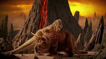 无敌原始人:一群野蛮人在争抢食物,却不知道危险在悄悄靠近,一颗巨大的陨石正向他们砸来!