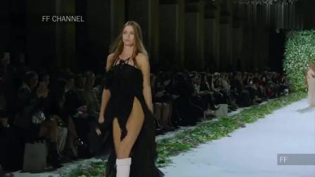 時裝秀:輕奢時尚,優雅又高貴,超模登臺很有古典氣質!
