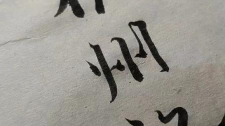 中国书法家协会会员胡飞老师临帖示范小行书