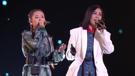 纯享版:那英携斯丹曼簇演唱《岁月》,走心演绎令人陶醉 中国好声音 20191007