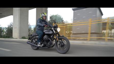 摩托古兹 Moto Guuzi V7 III Stone 测评报告 204【LongWay摩托志】