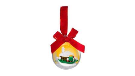 LEGO乐高积木玩具促销商品系列850949圣诞装饰品雪屋套装速拼
