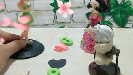 育儿亲子游戏玩具:不要在让花仙子下雪了,童话王国就要毁了