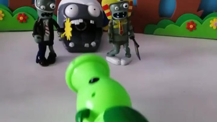 育儿亲子游戏玩具:两个小僵尸要保护老大了