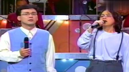 95年张雨生演唱《领悟》,声音穿透力太强了,这就是实力