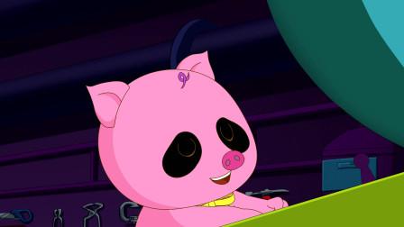 如意酷宝之笨笨猪: 有时候食欲也能促进创意的迸发哦!