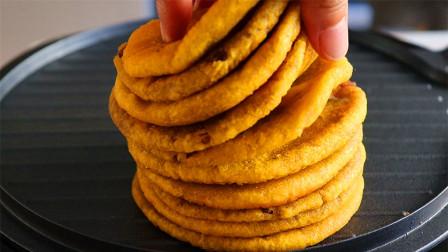 糯米饼最简单的做法,我家一周做3次,每次都吃不够,太香了