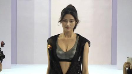 YOGIRL时尚运动内衣秀,模特青春活力