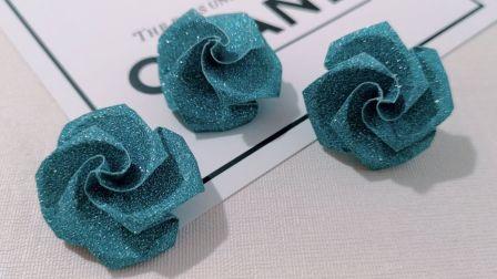 七夕快到了,快来折简单又好看的玫瑰,看一遍就懂,说不定用得上