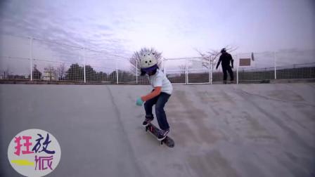 令人惊叹的12岁自由式滑板手