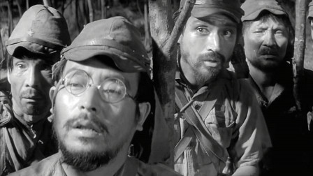 日军在荒岛上饥饿成慌,面对美军的炮击,饿得毫无反抗之力