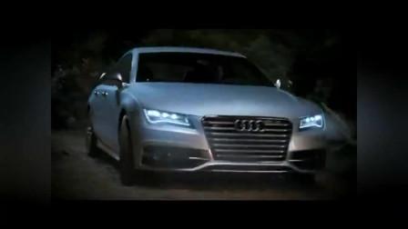 奥迪汽车创意广告,吸血鬼聚会,谁叫你开远光灯的,结局凉了!