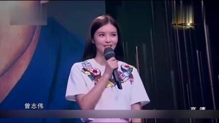 美女亲人全是香港巨星,说出父亲名字后,现场尖叫声不断