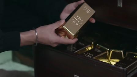 这么大一块黄金,得值多少钱啊!