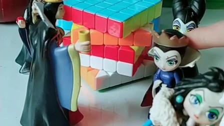 育儿亲子游戏玩具:你们希望童话王国变强大吗