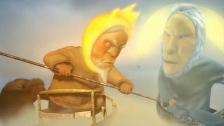 趣味短片:太阳和月亮吵架,竟闹的人间冰天雪地