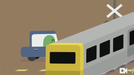 蠢蠢的死法:小豆子告诉你遵守交通规则多重要 游戏