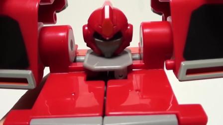 迷你特工队玩玩具:贴纸装扮赛米的机甲
