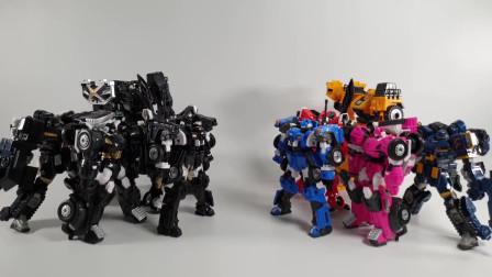 迷你特工队 玩具展示:迷你特工队玩具机甲展示