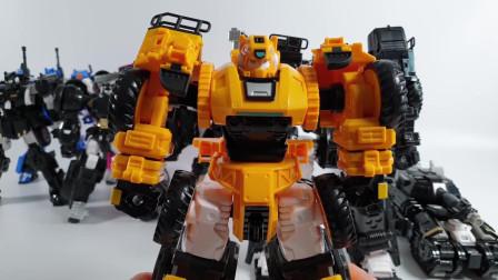 迷你特工队 玩具展示: 麦克斯机甲变形