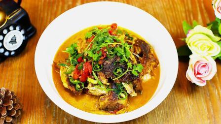 鲤鱼怎么炖好吃?大厨教你一个饭店的做法,一大碗都吃干净了!