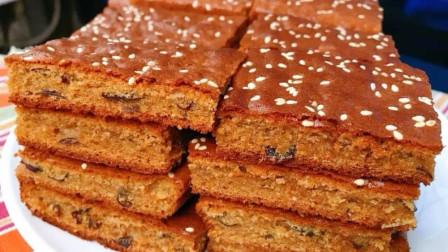电饭锅也可以做枣糕,不用烤箱,蓬松暄软,比面包还好吃