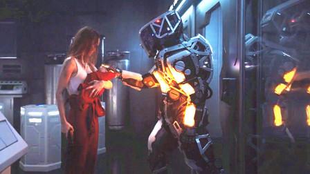 未来世界,机器人杀光所有旧人类,只为培育更完美的新人类