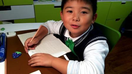 【7岁半】11-23哈哈跟奶奶一起默写二年级语文课文video_153807